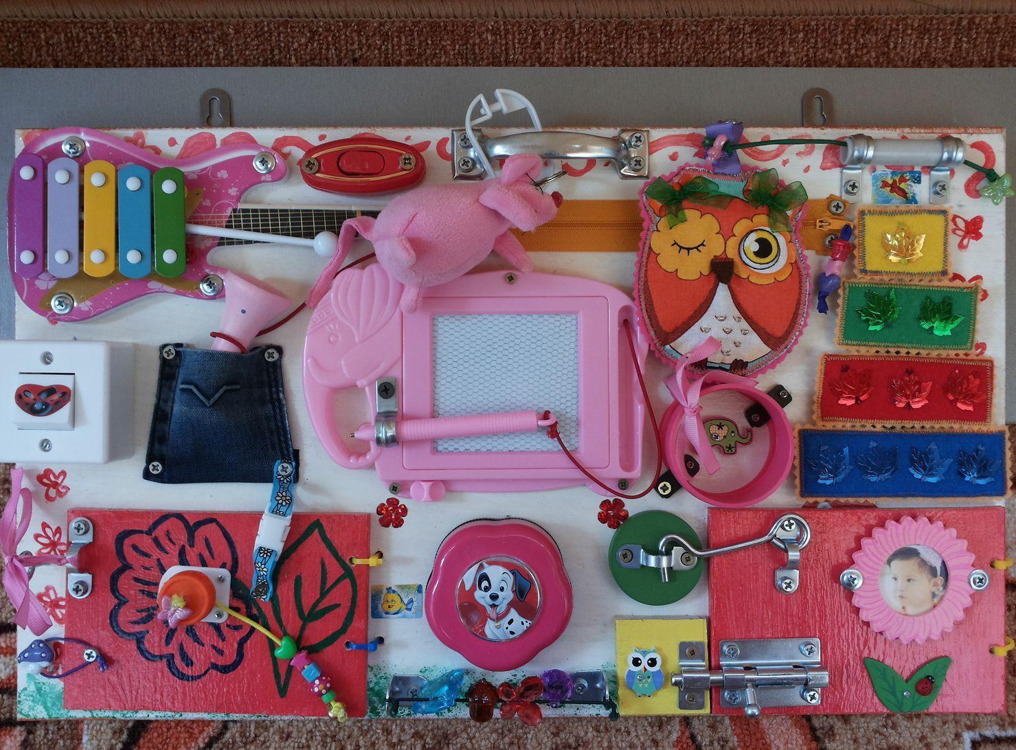 Бизиборд домик своими руками для девочки 83