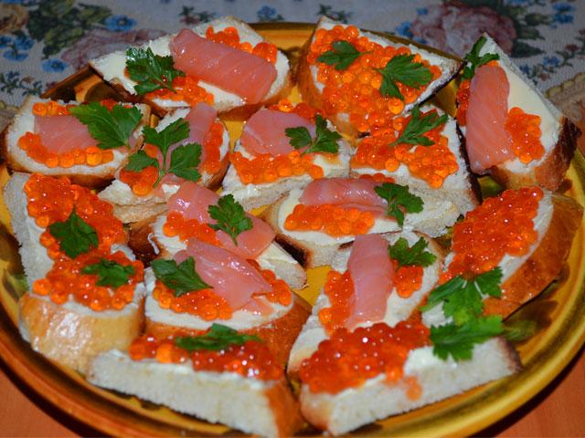 бутерброды рецепты с оформлением