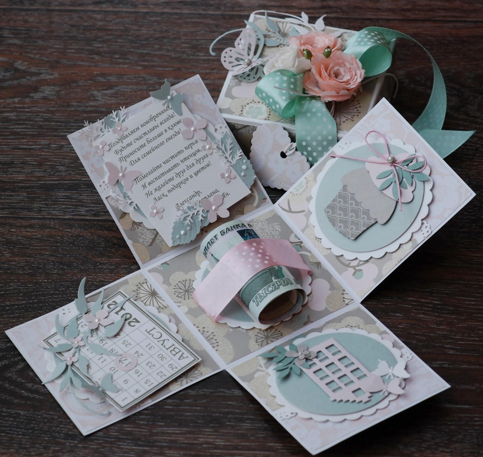 Подарки к свадьбе своими руками фото