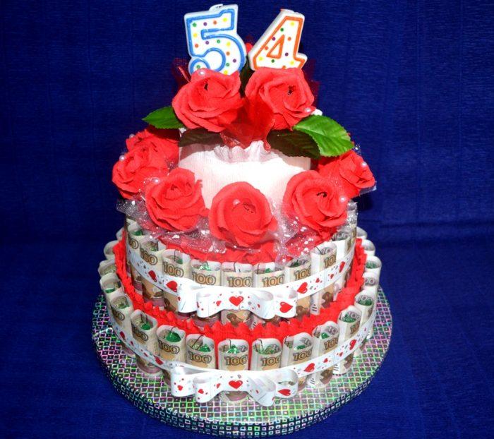 Сделать торт своими руками на юбилей