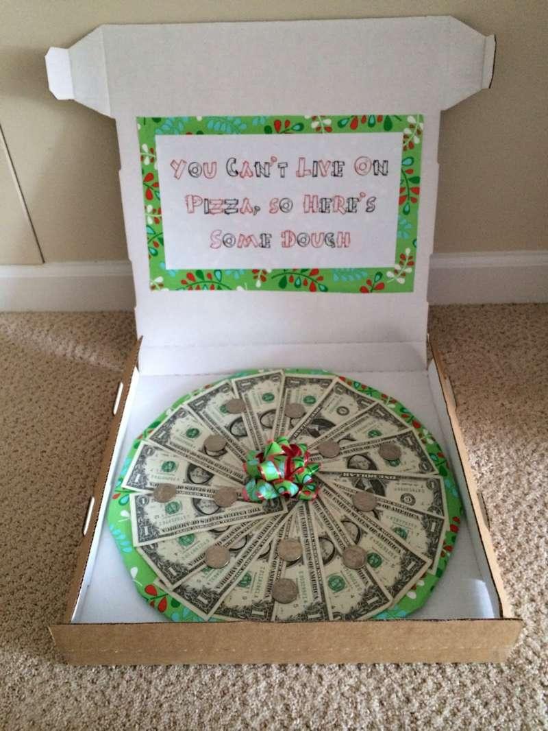 Оригинальный подарок своими руками из денег