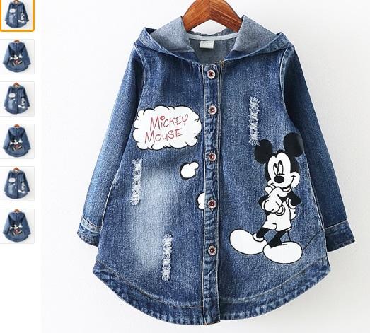 Джинсовая куртка для девочки сшить 197
