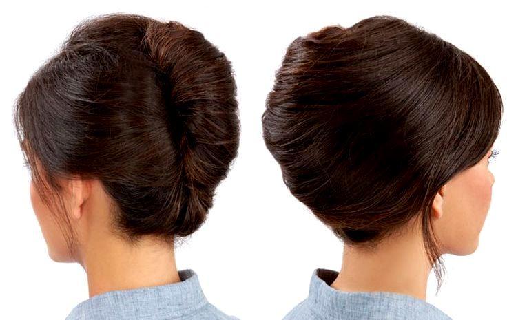 как сделать классические прически на средние волосы