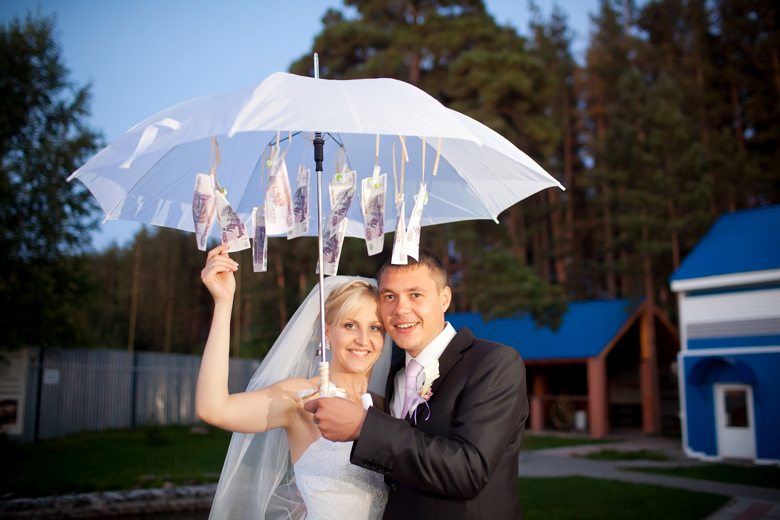 Зонт с деньгами поздравление 969
