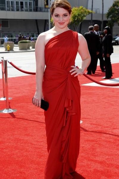 платье красное фото образы