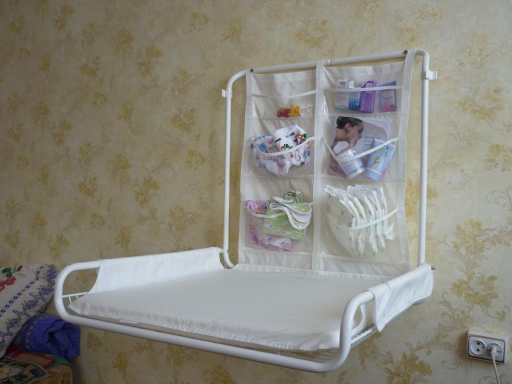 Детская кроватка с пеленальным столом своими руками