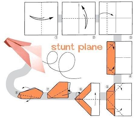 Как сделать далеко летающий самолет из бумаги