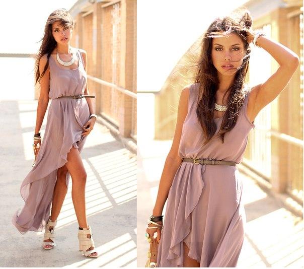 Шифоновое платья