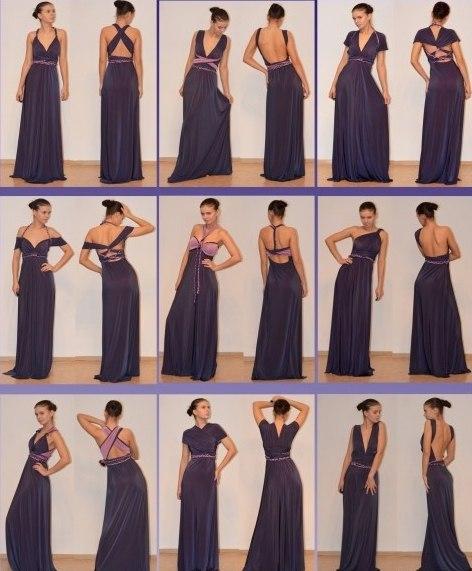 Как сшив платье трансформер 258