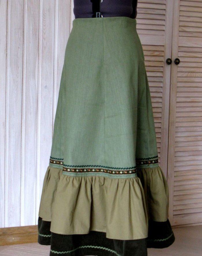 Как сшить юбку бохо без выкройки