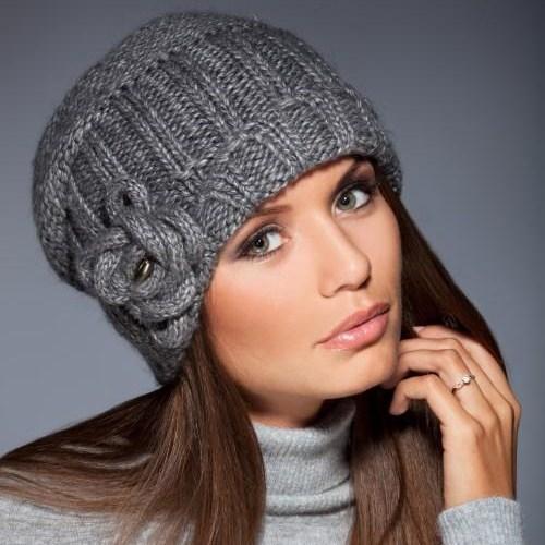 вязанные шапки женские схемы