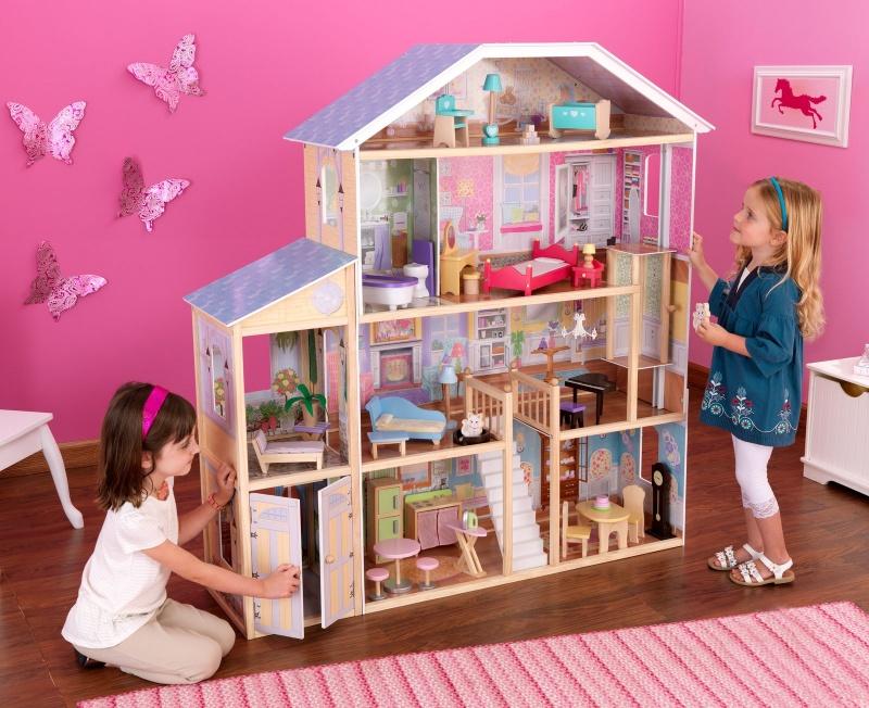 Как сделать для кукол домик на дереве