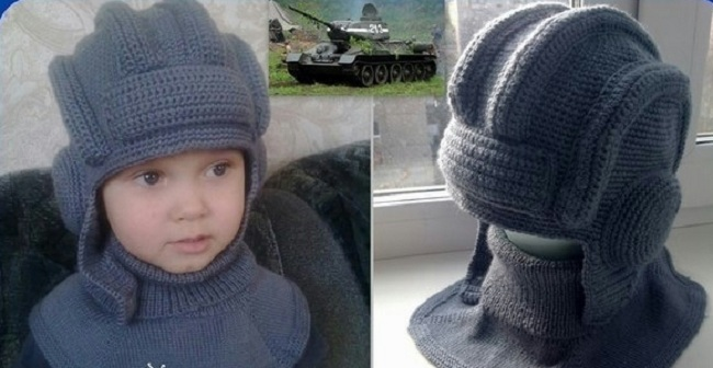 Шапка шлем вязание спицами мк 190