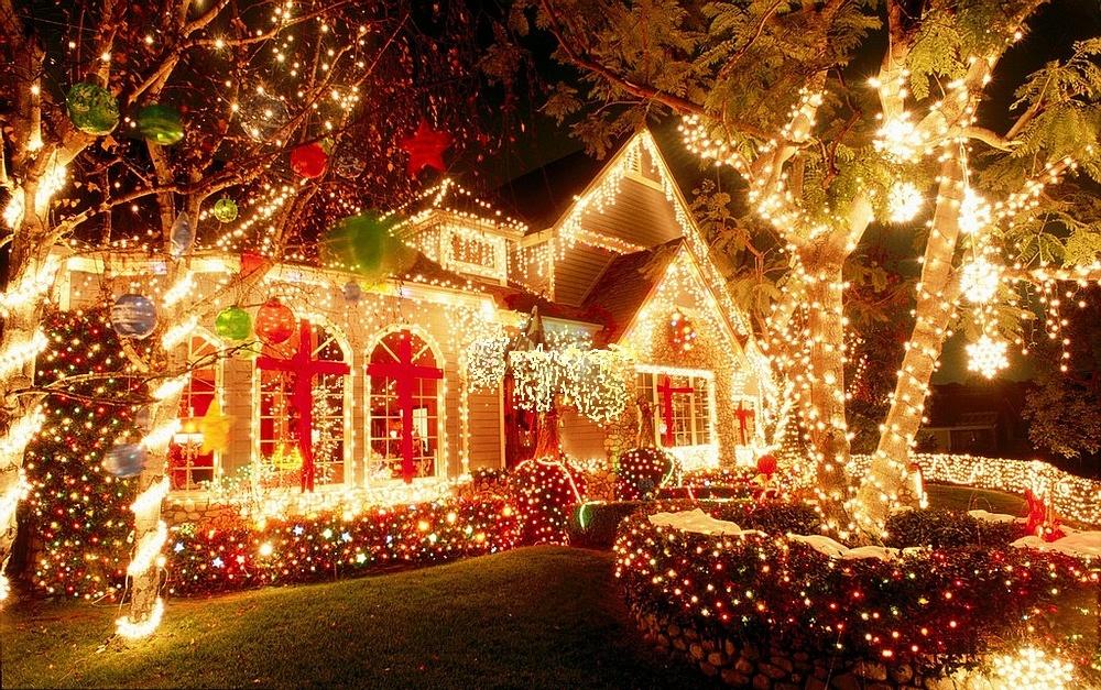 Украшаем дома к новому году