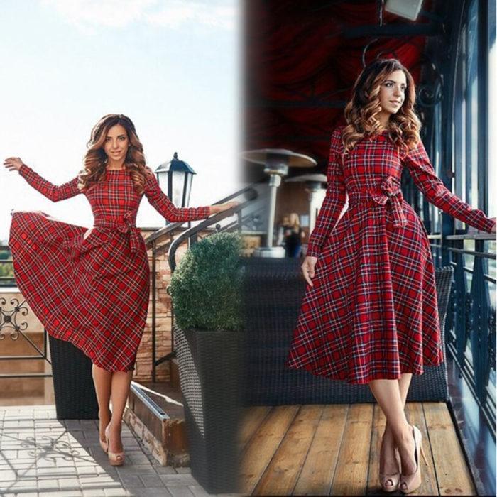 Стильные образы 2017 платья