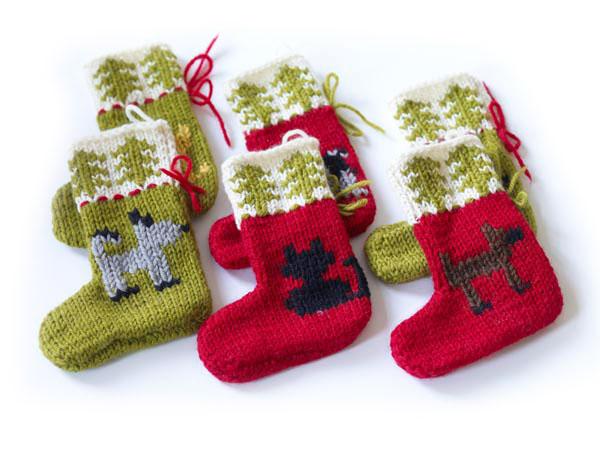Носки для подарков связать 72