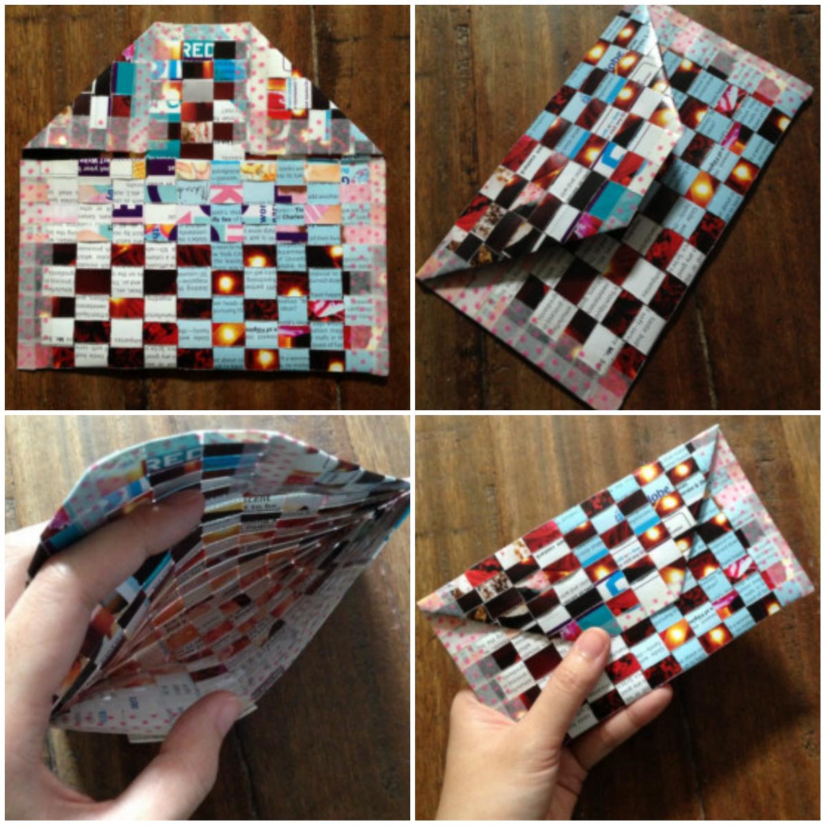 Оригами: как сделать кошелек из бумаги МОРЕ творческих идей 92