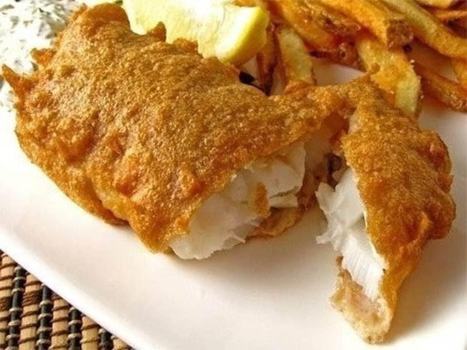 пышный кляр для рыбы рецепт