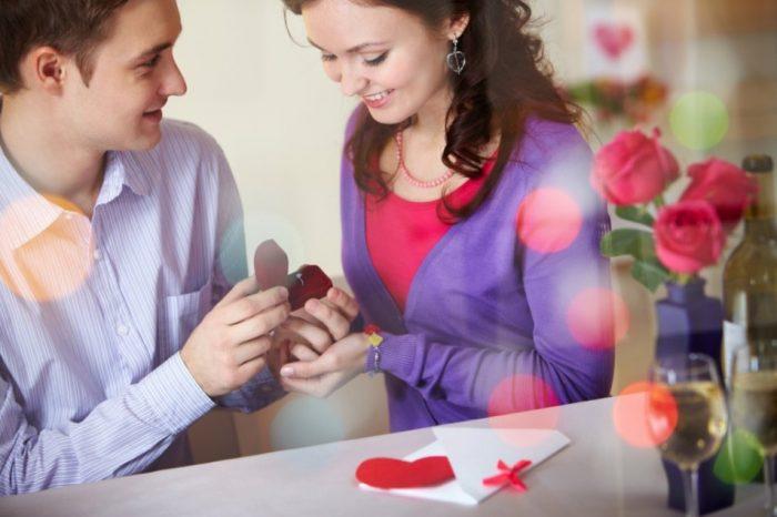 Как можно парню подарить кольцо
