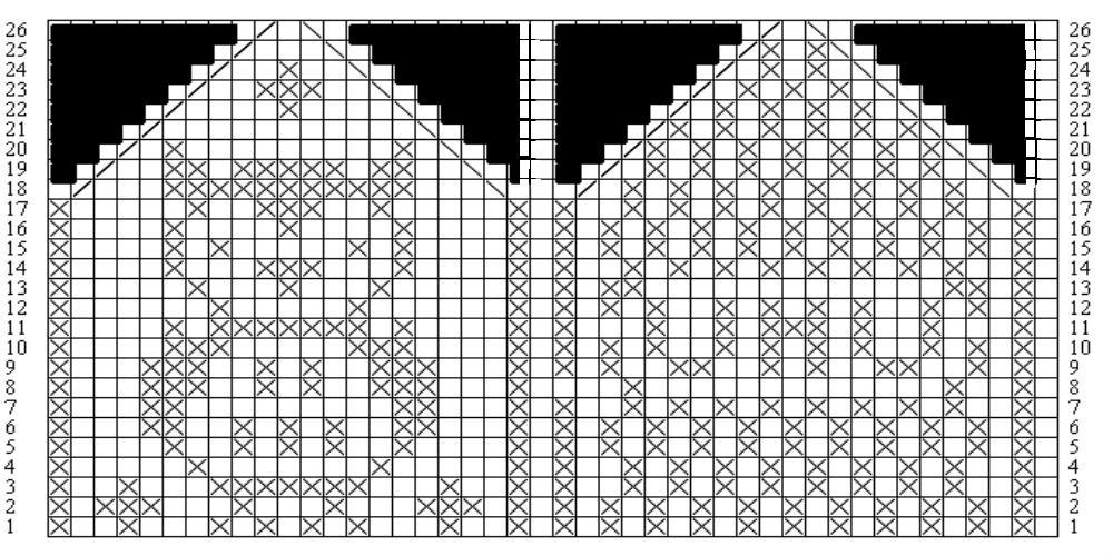 Вязание варежек узоры 47