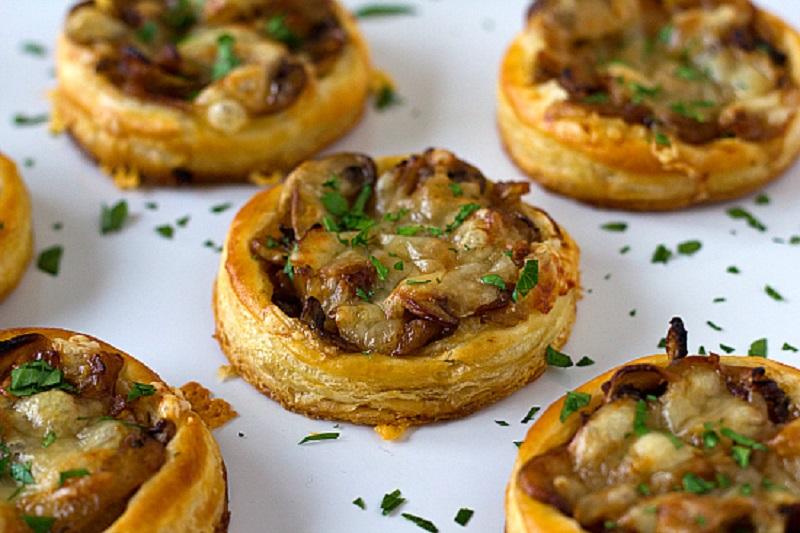 Рецепт жюльена из грибов в тарталетках
