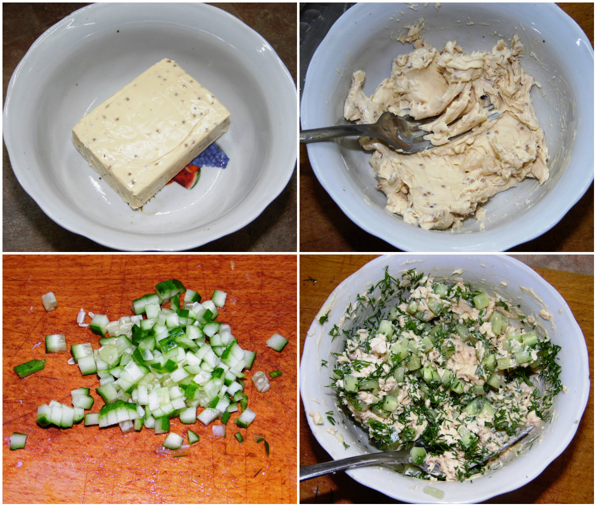 Начинка простая для тарталеток рецепт пошагово