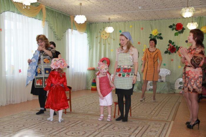 Игра лужицы в детском саду