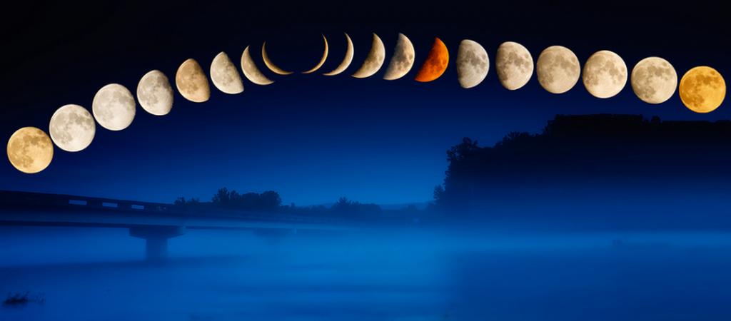 смена фаз луны в 2016 году такой