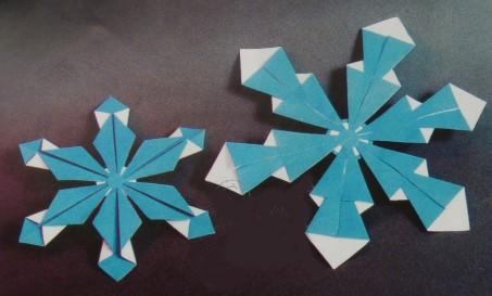 Как сделать снежинку из бумаги для детей 7 лет