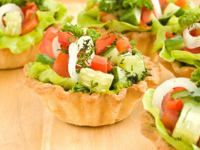 Канапе рецепт салаты