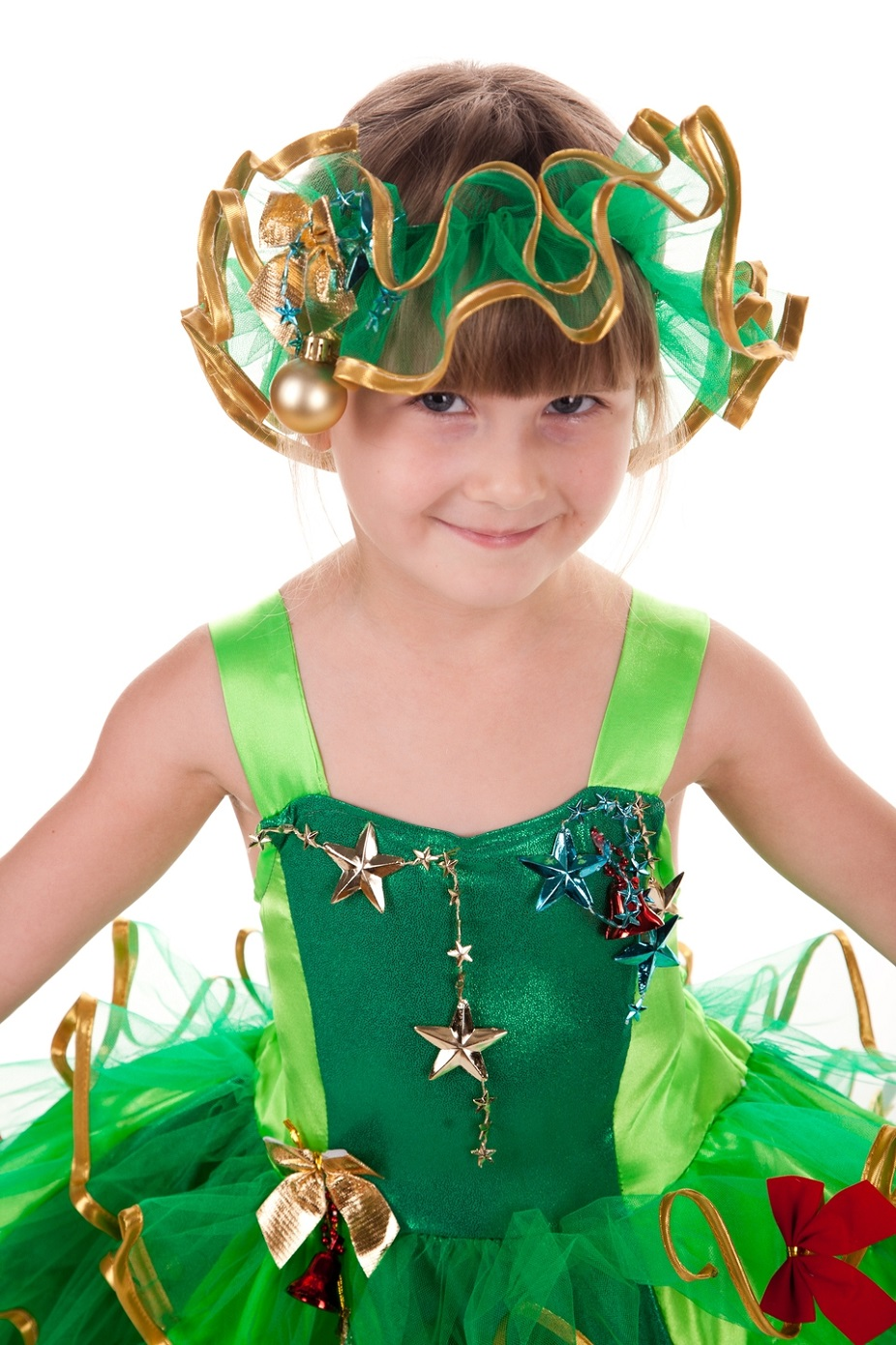 Новогодние головные уборы для девочек своими руками 54