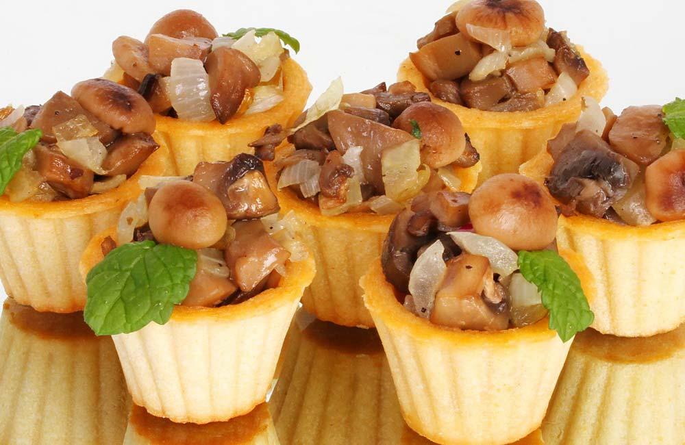 Тарталетки с грибной начинкой на праздничный стол рецепты 15