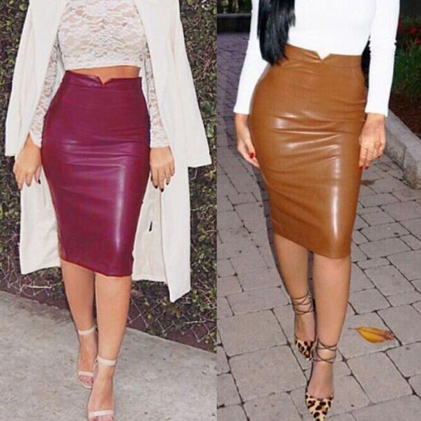 Образ с цветной юбкой
