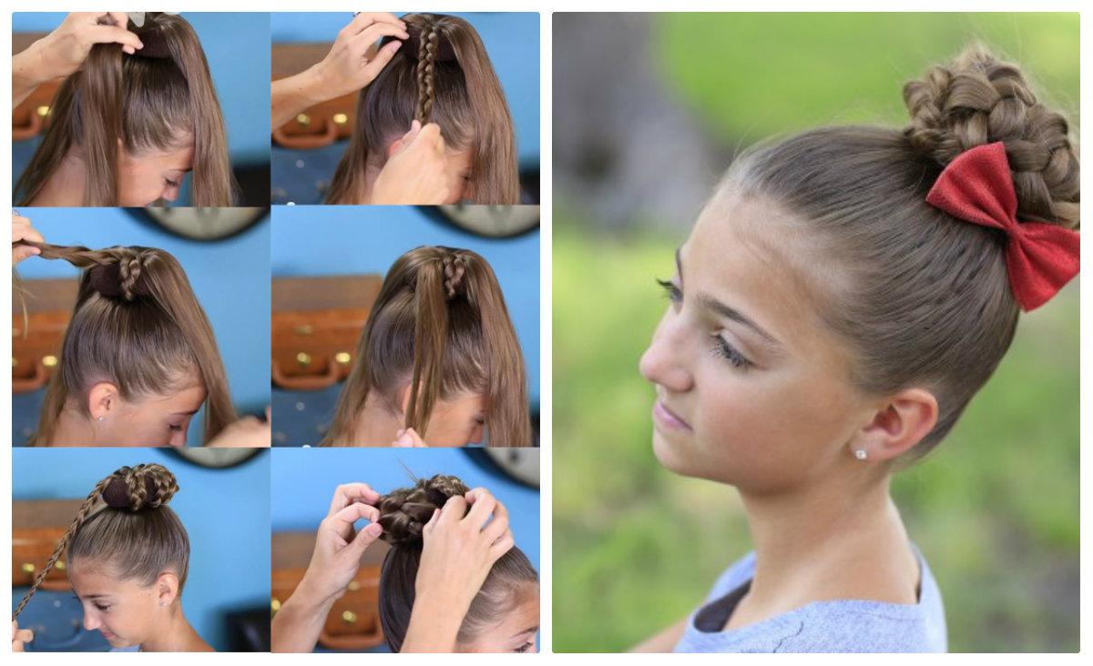 Как сделать прически из косы