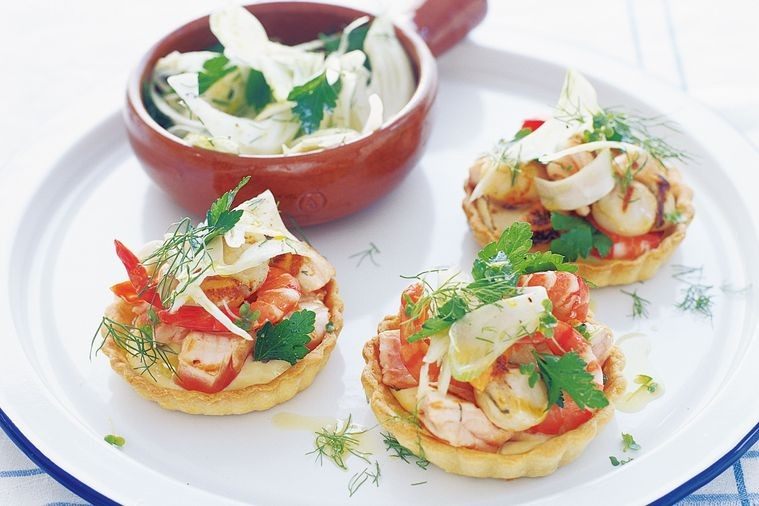 Начинка для тарталеток из морепродуктов