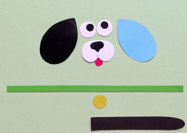 Поделка из бумаги своими руками собаку