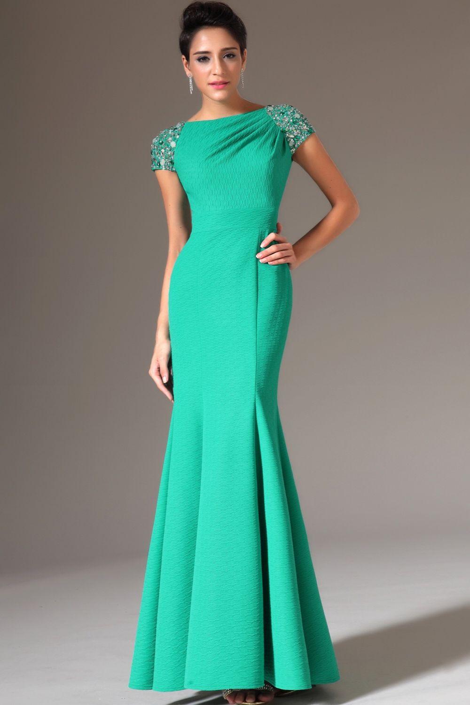 Длинные платье с фасоном