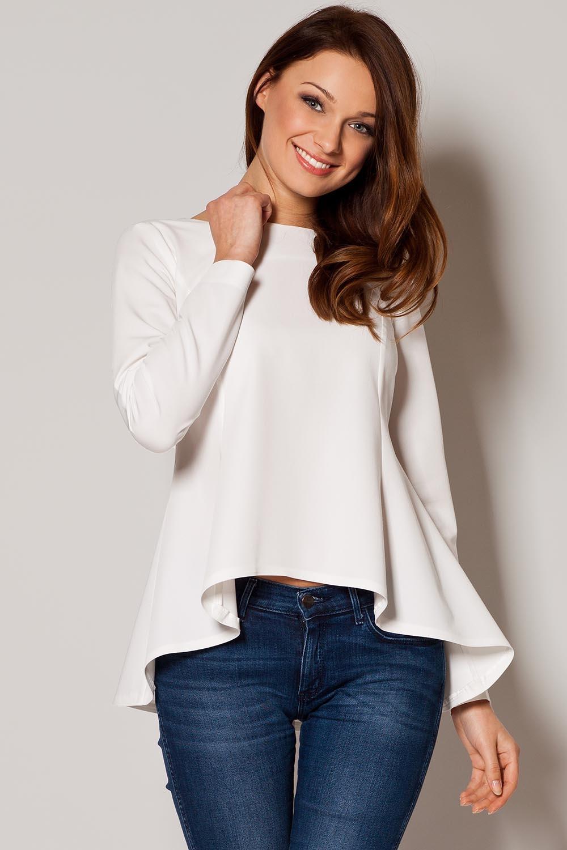Блузки трикотажные с чем носить