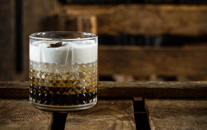 как приготовить коктейль из вина или водки
