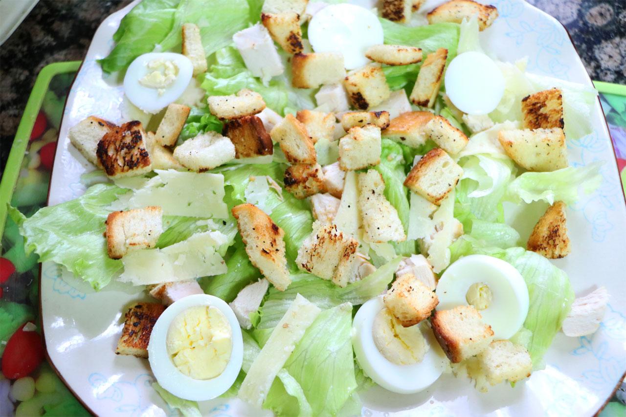 салат с курицей и капустой классический рецепт с фото