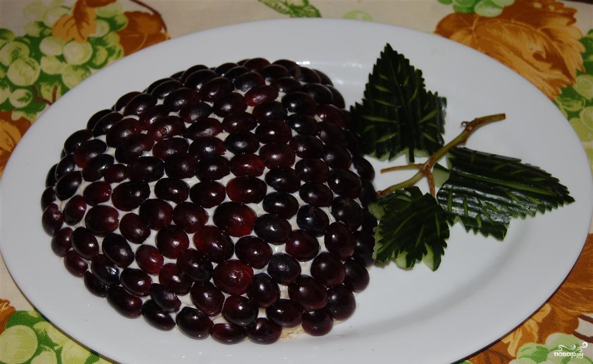 Салаты из винограда рецепты с