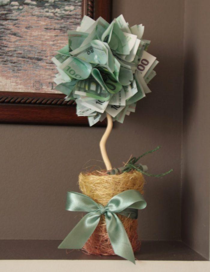 Стихи на свадьбу к денежному дереву