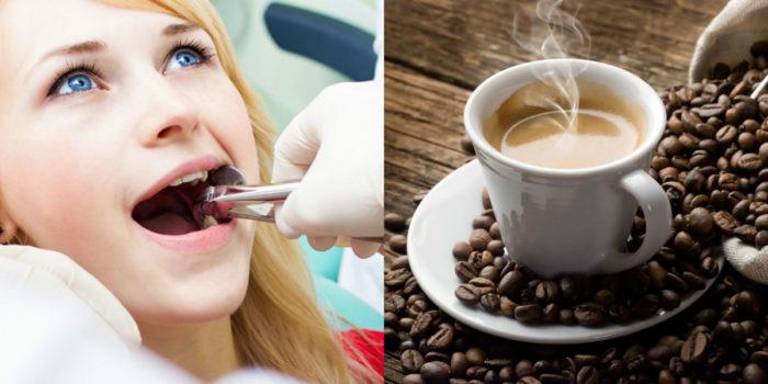 Выпить чашку кофе можно через 1-2 часа после удаления зуба.