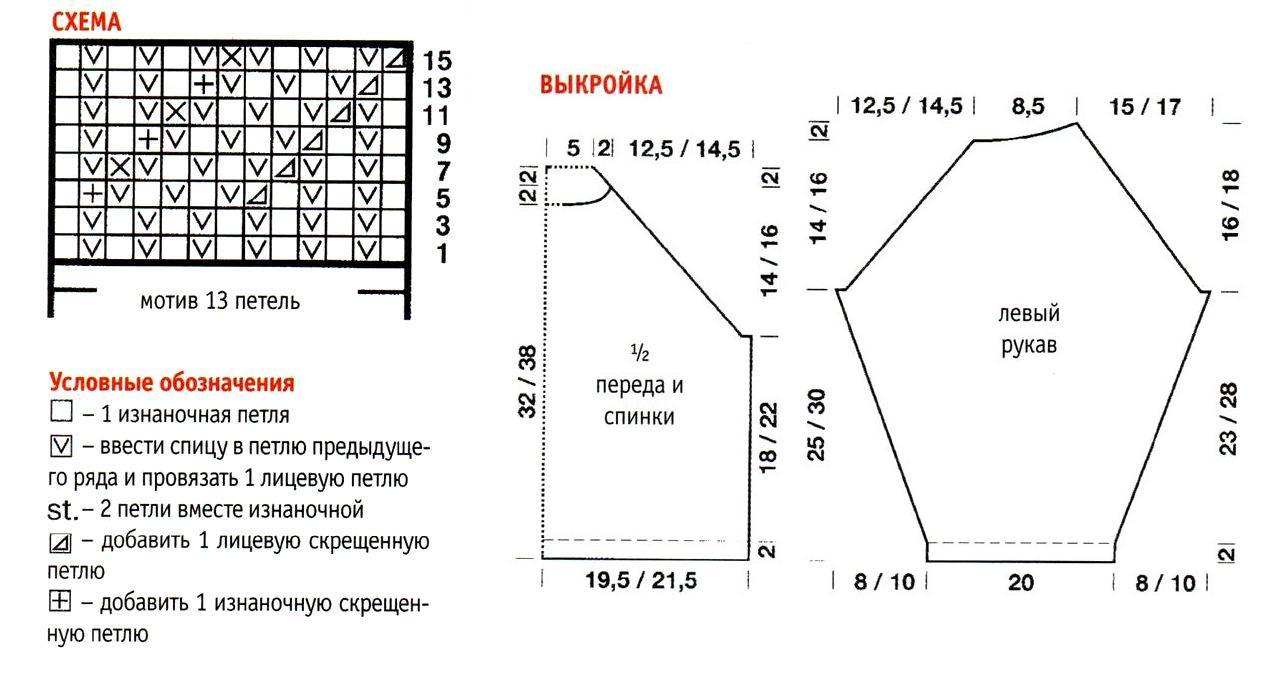 Узор звездочки крючком схемы и описание