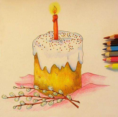 Что нарисовать на Пасху с детьми? Как нарисовать рисунок на Пасху поэтапно карандашом для начинающих и детей?