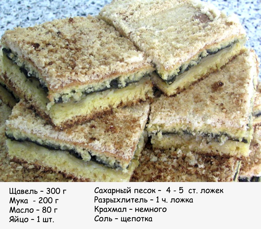 Пирог с щавелем из песочного теста рецепт с пошагово