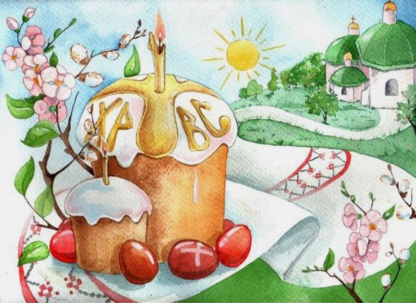 рисунки картинки пасха