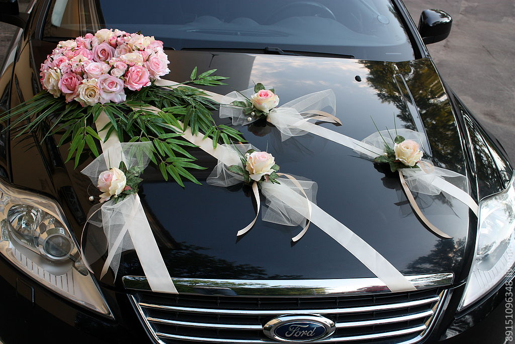 Украшения свадебных машин мастер класс 158