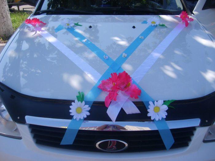 Как сделать своими руками украшения на машину свадьбу 65