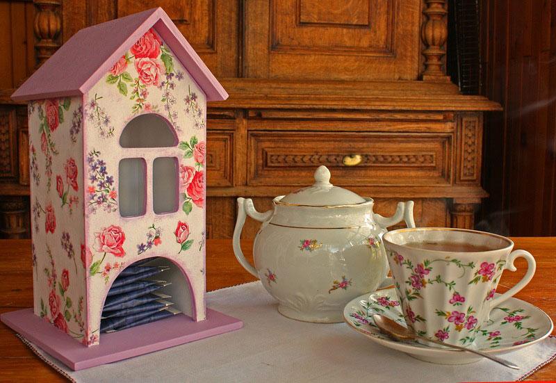 Чайный домик своими руками декупаж мастер класс